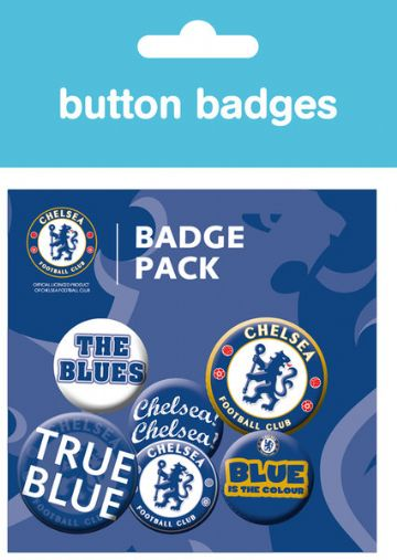 Chelsea fc official badge pack